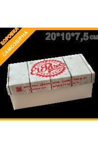 Коробка для суші 20х10х7,5см, з друком