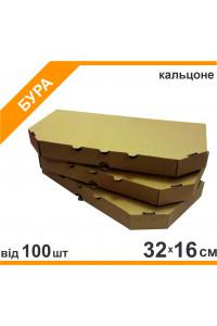 Коробка для піци кальцоне 32*16см